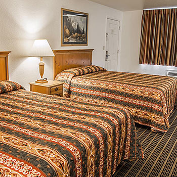 Photo of hotel room with 2 queen beds
